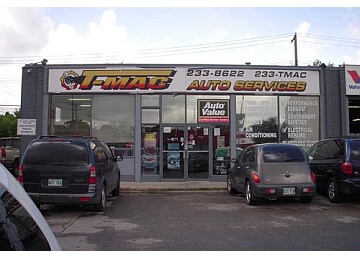 Winnipeg car repair shop T-MAC Auto Services