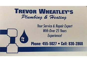 Halifax plumber Trevor Wheatley's Plumbing & Heating Ltd.