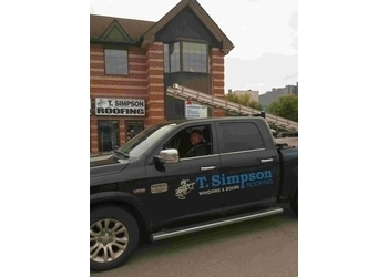 Newmarket roofing contractor T. Simpson Roofing Ltd.