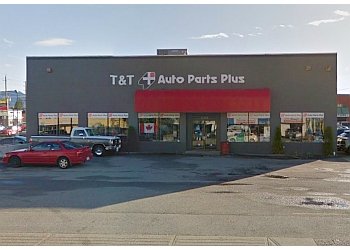Maple Ridge auto parts store T & T AUTO PARTS LTD.