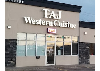Grande Prairie indian restaurant Taj Grill and Bar