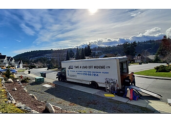 Nanaimo moving company Take A load Off Moving LTD.