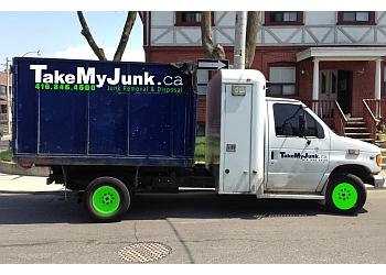 Toronto junk removal Take My Junk Inc.