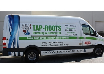 Richmond plumber Tap-Roots Plumbing & Heating Ltd.