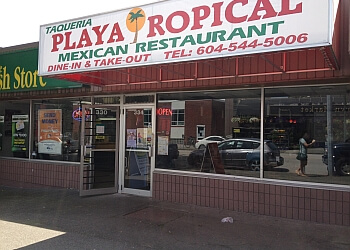 Taqueria Playa Tropical New Westminster Mexican Restaurants