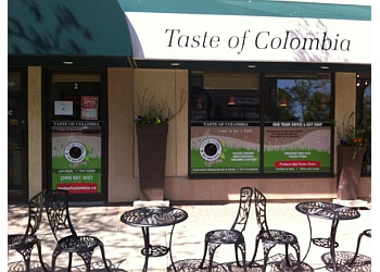 Oakville cafe Taste of Colombia - Fair Trade Coffee & Gift Shop