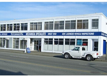 North Vancouver auto body shop Taylormotive Service Ltd.