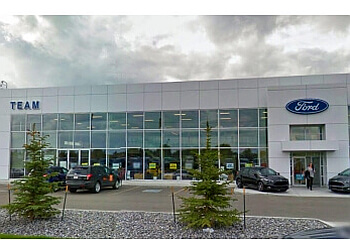Edmonton car dealership Team Ford
