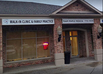 Vaughan urgent care clinic Team Maple Walk in Clinic & Family Practice