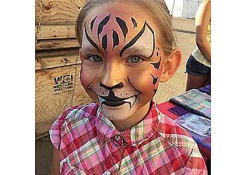 Calgary face painting Terrrrrific Face Painting