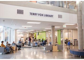 Port Coquitlam landmark Terry Fox Library