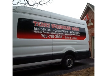 Barrie garage door repair Terry Overhead Door