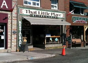 Huntsville italian restaurant That Little Place by the lights