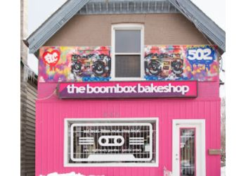 London cake The Boombox Bakeshop