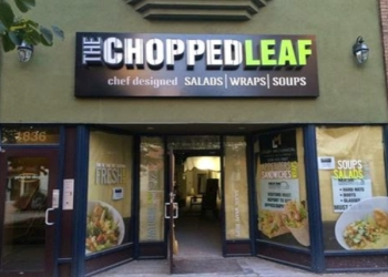 Regina vegetarian restaurant The Chopped Leaf
