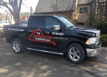 Hamilton gutter cleaner The Eavestrough Company