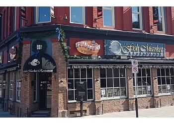 Ottawa seafood restaurant The Fish Market Restaurant