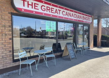Oshawa bagel shop The Great Canadian Bagel