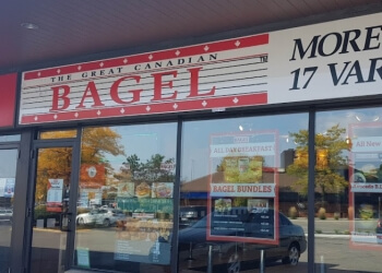 Pickering bagel shop The Great Canadian Bagel