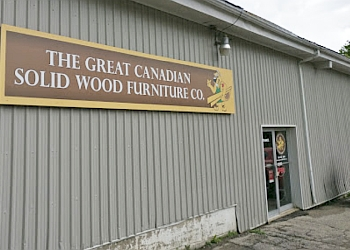 Orangeville furniture store The Great Canadian Solid Wood Furniture Co.