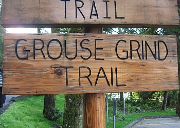 North Vancouver hiking trail The Grouse Grind
