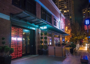 Vancouver steak house The Keg Steakhouse + Bar