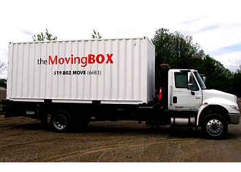Brantford moving company The Moving Box
