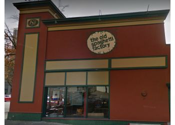 New Westminster italian restaurant The Old Spaghetti factory