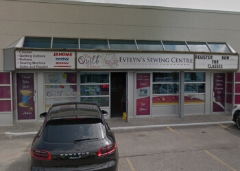 Newmarket sewing machine store The Quilt Store - Evelyn's Sewing Centre