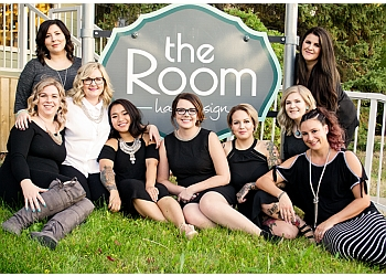 Regina hair salon  The Room hair design