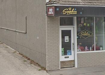 Winnipeg hair salon The Sapphire Hair Lounge