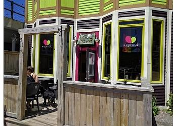 St Johns vegetarian restaurant The Sprout Restaurant
