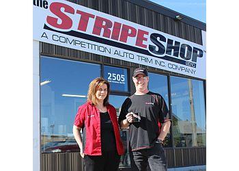 Regina sign company The Stripe Shop