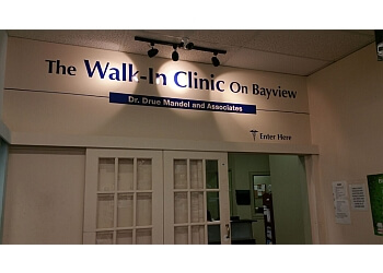 Richmond Hill urgent care clinic The Walk in Clinic on Bayview
