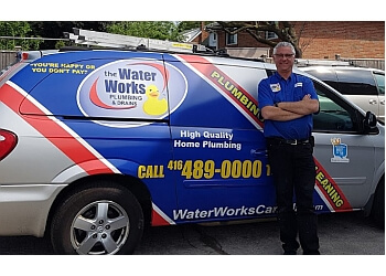 Toronto plumber The Waterworks Plumbing & Drains, Inc.