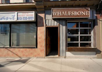 Ottawa seafood restaurant The Whalesbone Bank Street