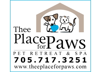 Barrie pet grooming Thee Place For Paws