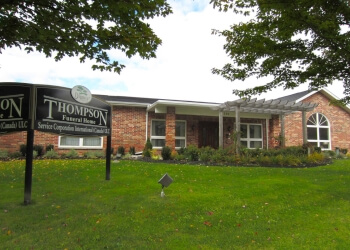 Aurora funeral home Thompson Funeral Home