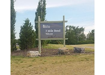Red Deer public park Three Mile Bend