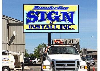 Thunder Bay sign company Thunder Bay Sign & Install Inc.