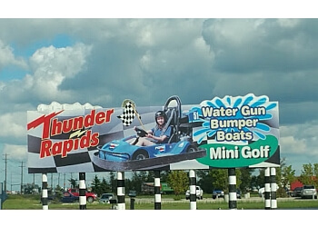Winnipeg amusement park Thunder Rapids Fun Park