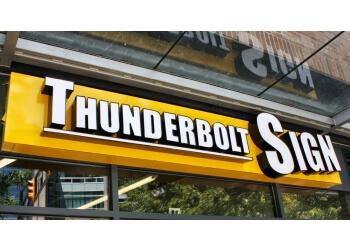 Richmond sign company Thunderbolt Sign