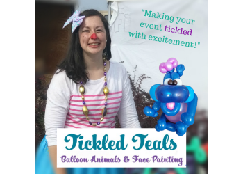 North Bay face painting Tickled Teals