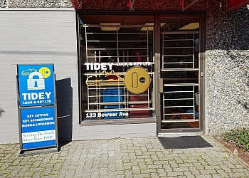 North Vancouver locksmith Tidey Lock & Key Ltd.