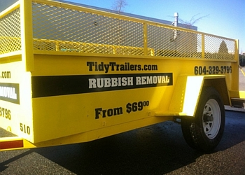 Delta junk removal Tidy Trailers