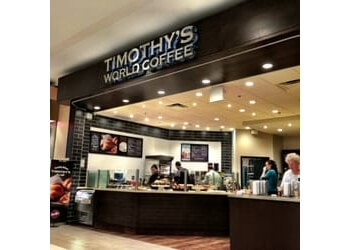 Pickering cafe Timothy's World Coffee