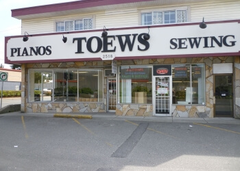 Abbotsford sewing machine store  Toews Sewing
