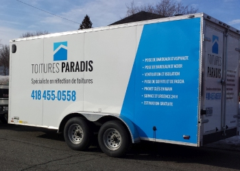 Levis roofing contractor Toitures Paradis