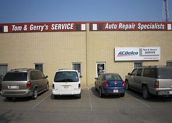 Lethbridge car repair shop Tom & Gerrys Service