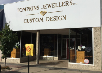 Lethbridge jewelry Tompkins Jewellers Ltd.